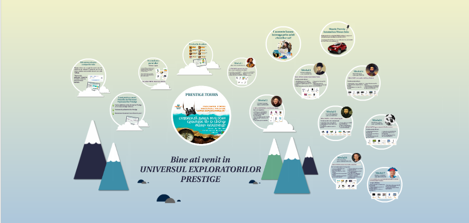 universul exploratorilor prestige